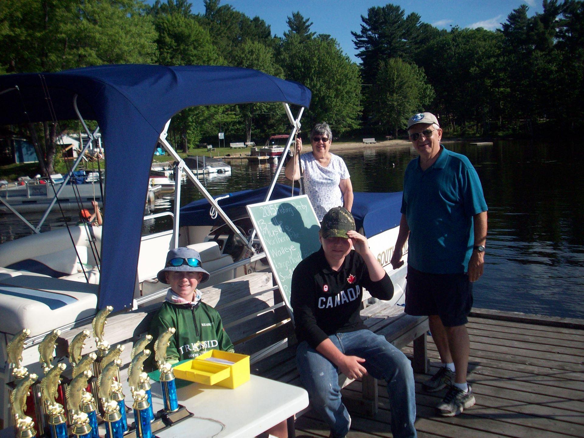 Kahshe Lake Ratepayers Association (KLRA) - 2016 Kermit Long Fishing